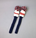 2018 Jan Craig Headcovers Navy/White/Red Hybrid