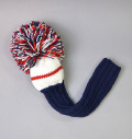 2018 Jan Craig Headcovers Navy/White/Red  Driver
