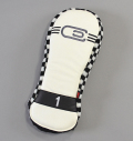 AM&E excors Reverb Racer Driver Headcover White/Checker