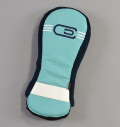 AM&E excors Reverb Racer Driver Headcover Ice/Navy