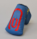 AM&E excors original Putter Cover Snap-Fit for Mid-Mallet ★★★★★ Ocean/Red
