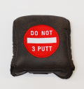 AM&E Do Not 3Putt Universal Large Mallet Putter Cover Steer Hide