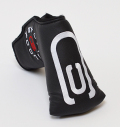 AM&E excors original Putter Cover Snap-Fit for Mid-Mallet ★★★★★ Black/White