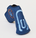 AM&E excors original Putter Cover Snap-Fit for Standard ★★★★★ Ocean/Lt.Blue