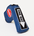 AM&E One Way x Do Not 3Putt Putter Cover Snap-Fit for Standard Ocean