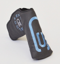 AM&E excors original Putter Cover Snap-Fit for Standard ★★★★★ Flint(Charcoal)/Lt.Blue