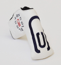 AM&E excors original Putter Cover Snap-Fit for Standard ★★★★★ White/Navy