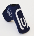 AM&E excors original Tech Canvas Putter Cover Snap-Fit for Standard ★★★★★ Navy/White