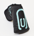 AM&E excors original Putter Cover Snap-Fit for Mid-Mallet ★★★★★ Black/Turquoise Blue