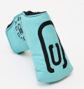 AM&E excors original Putter Cover Snap-Fit for Mid-Mallet ★★★★★ Ice/Black