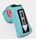 AM&E One Way x Do Not 3Putt Putter Cover Snap-Fit for Mid-Mallet Ice