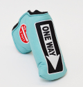 AM&E One Way x Do Not 3Putt Putter Cover Snap-Fit for Standard Ice