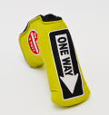 AM&E One Way x Do Not 3Putt Putter Cover Snap-Fit for Standard Pear