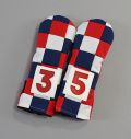 "Rose&Fire ""Checkered"" USA  Cordura Headcovers Fairway"