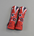 "Rose&Fire ""Bomber/Warhawk""Limited RWB Premium USA Leather Hybrid Headcovers"