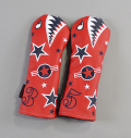 "Rose&Fire ""Bomber/Warhawk""Limited RWB Premium USA Leather Fairway Headcovers"