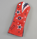 "Rose&Fire ""Bomber/Warhawk""Limited RWB  Premium USA Leather Driver Headcovers"