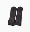"""Rose&Fire Limited Edition """"Blacked-Out Bomber/Warhawk"""" Premium USA Leather Hybrid Headcovers"""