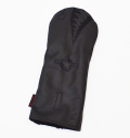 """Rose&Fire Limited Edition """"Blacked-Out Bomber/Warhawk"""" Premium USA Leather Driver Headcover"""