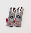 """Rose&Fire """"Riveted Bomber/Warhawk"""" Limited Edition Premium USA Leather Hybrid Headcovers"""