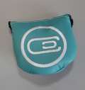 excors Magnetic Mallet Putter Cover Aqua Blue