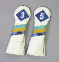 "excors original ""Pigskin"" Headcovers for Fairway"