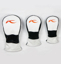 KJUS LOGO HEAD COVER WHITE