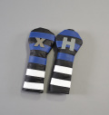 RMG Rugby Stripe Leather Hybrid Headcovers