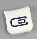 excors Magnetic Mallet Putter Cover White/Navy