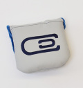 excors Magnetic Mallet Putter Cover Gray/Navy