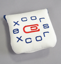 excors Magnetic Mallet Putter Cover White