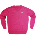 Fairy Powder FP19-5105 V-Neck Sweater Pink
