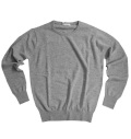 Fairy Powder FP19-5106 Cashmere Crew Neck Sweater Gray