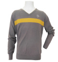 Fairy Powder FP20-5105B V-Neck Sweater Gray