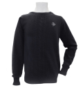 Fairy Powder FP20-5106 Cashmere Cable Knitting Sweater Navy