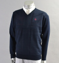 SubSeventy AS11006 Punch Union Jack Sweater Navy