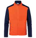 KJUS MEN RETENTION JACKET ORANGE/NIGHT BLUE