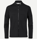 KJUS MEN DIAMOND FLEECE JACKET BLACK
