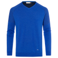 KJUS MEN FREELITE KULM V-NECK  PULLOVER BLUE