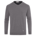 KJUS MEN FREELITE KULM V-NECK  PULLOVER GREY