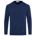 KJUS MEN FREELITE KULM V-NECK  PULLOVER NAVY