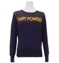 Fairy Powder FP20-6105B Women's Logo Sweater Navy