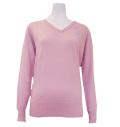 Fairy Powder FP20-6105 Women's Sparkling Sweater Pink
