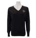 Fairy Powder FP20-6105 Women's Sparkling Sweater Black