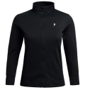 PeakPerformance Women's Turf Zip Black