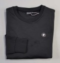 Cross Tech Crew Neck Black