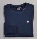 Cross Tech Crew Neck Navy