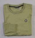 Cross Tech Crew Neck Lichen Green