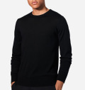 2018 PeakPerformance Merino Crew Black
