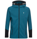 PeakPerformance Rider Zip Hood Deep Aqua